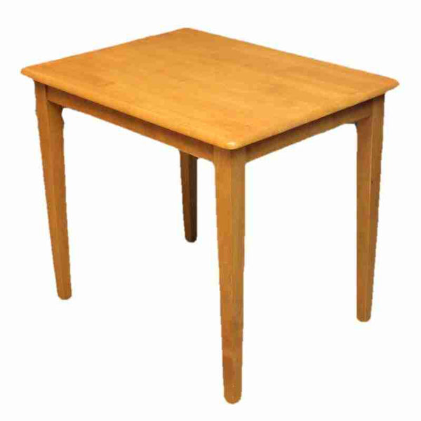 Small Contemporary Beech Dining Table-Origin Antiques