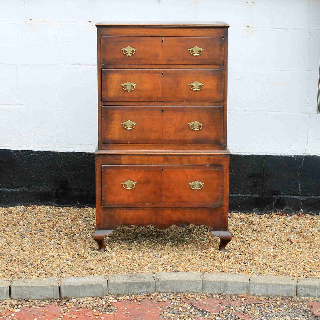 Victorian Antique Mahogany Chest of Drawers-Origin Antiques