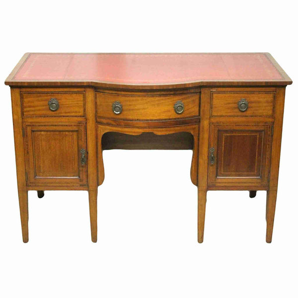 Victorian Antique Mahogany Desk-Origin Antiques