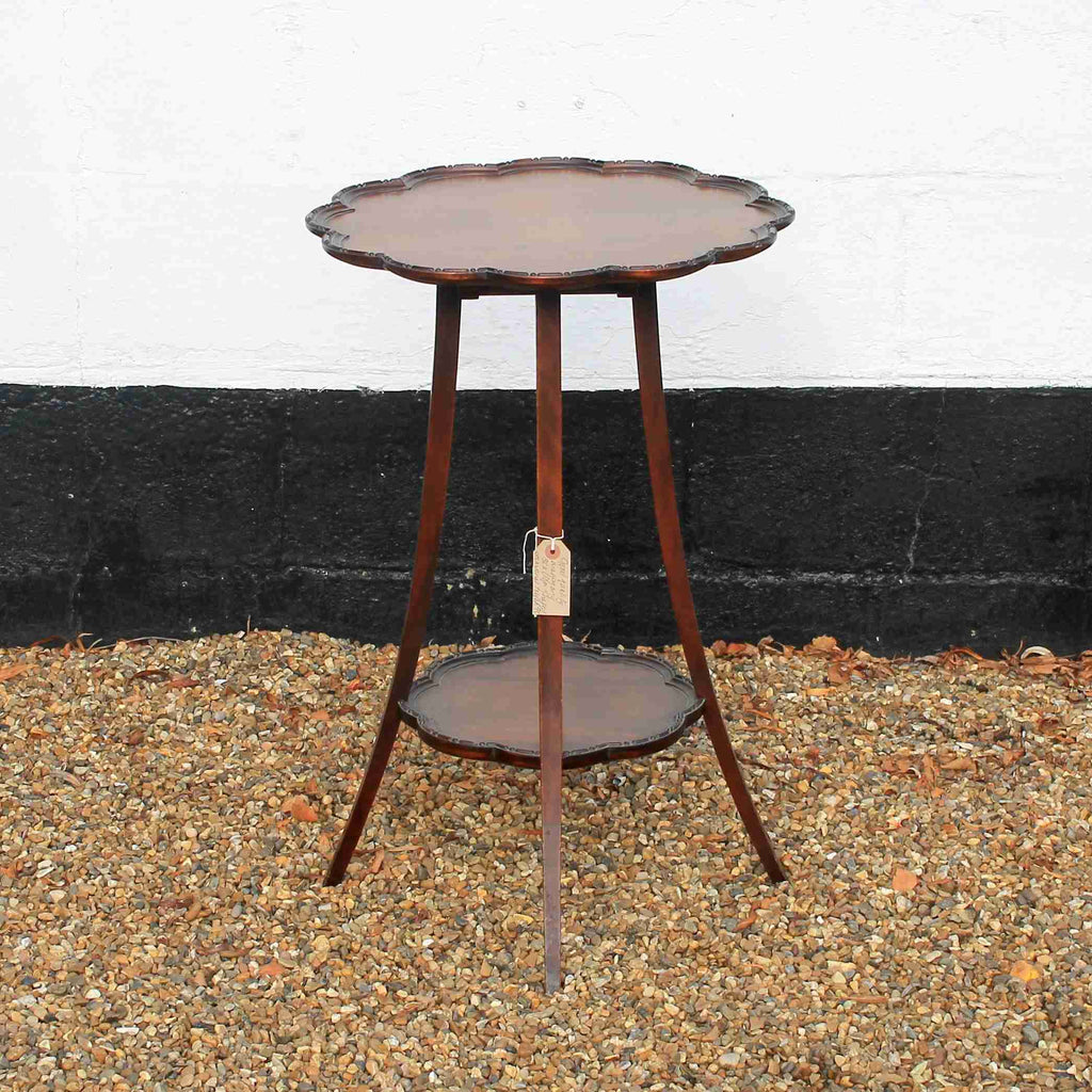 Victorian Antique Mahogany Side Table-Origin Antiques