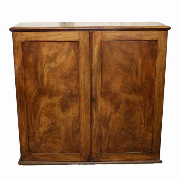 Victorian Antique Mahogany Two Door Cabinet-Origin Antiques