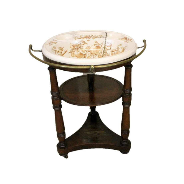 Victorian Antique Mahogany Wash Stand-Origin Antiques