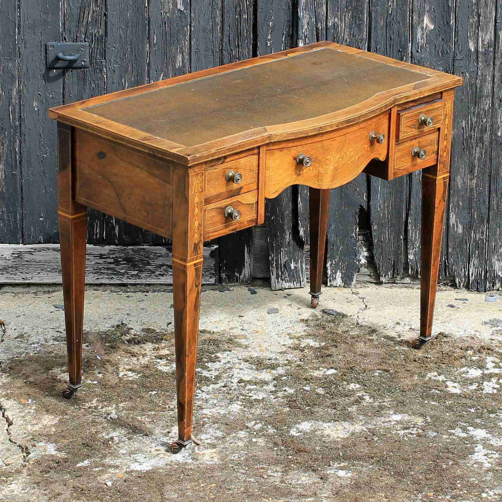 Victorian Antique Rosewood Writing Desk-Origin Antiques
