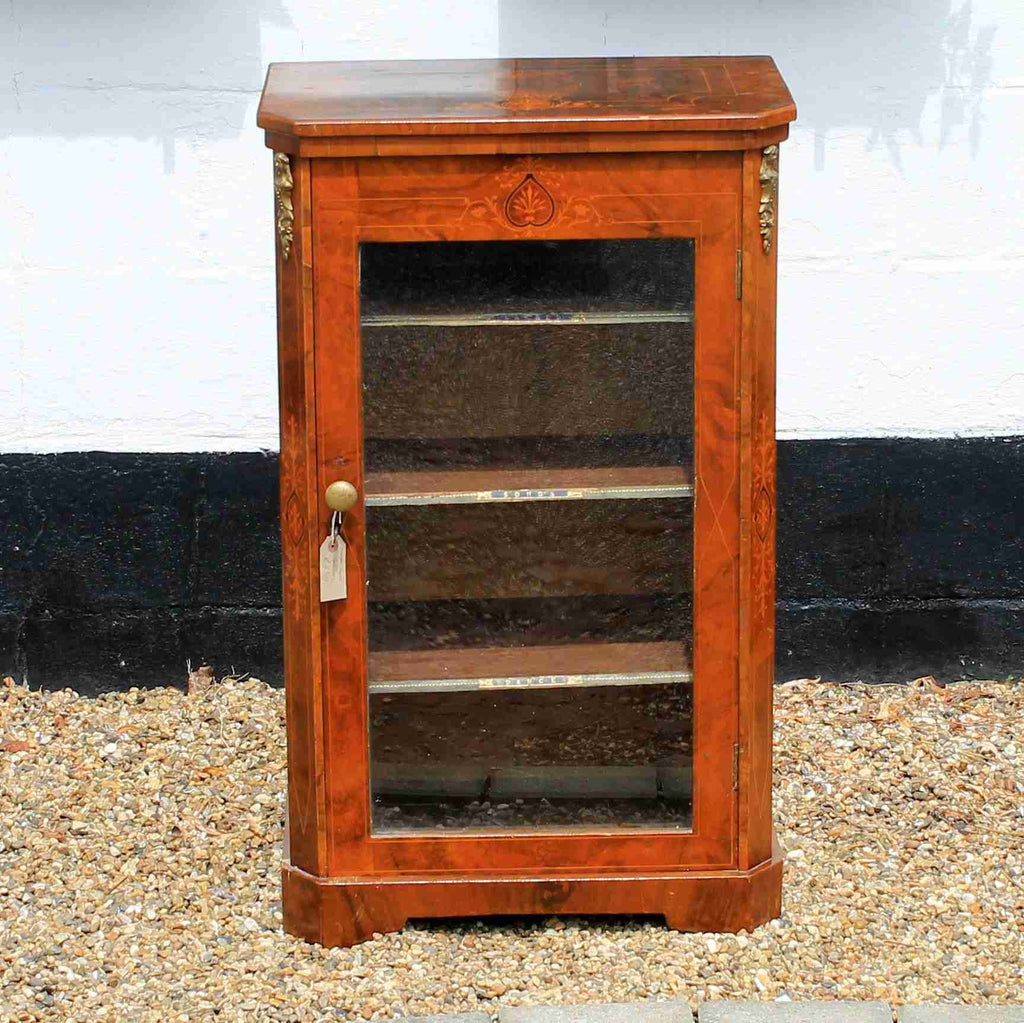 Victorian Antique Walnut Cabinet-Origin Antiques
