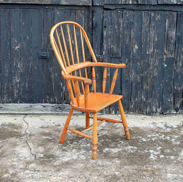 Victorian Antique Windsor Style Armchair-Origin Antiques