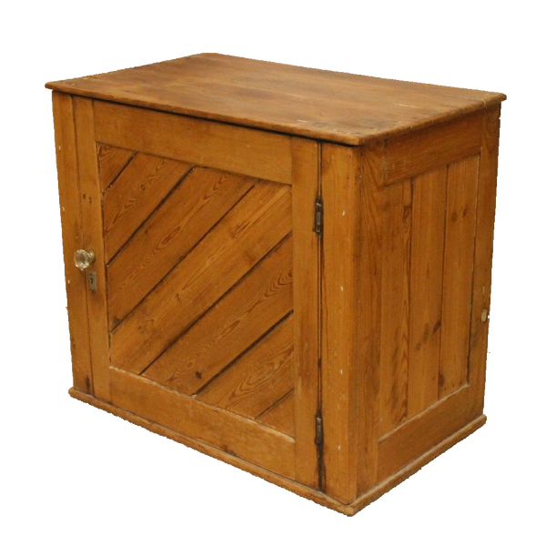 Vintage Small Cabinet - Rustic Country Style Pine-Origin Antiques