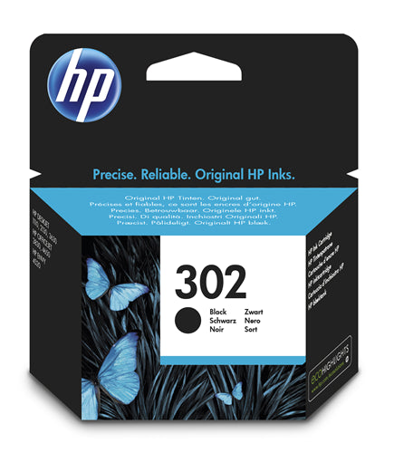 302 Black Original Ink Cartridge