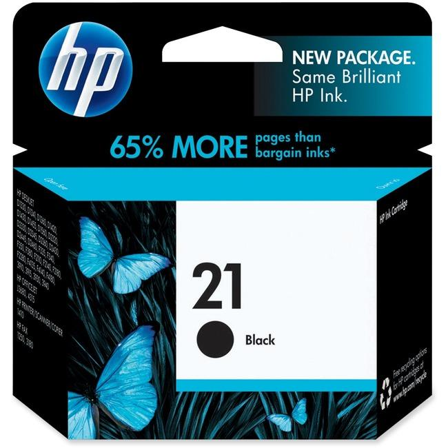 HP 21 Original Ink Cartridge - Single Pack (HEWC9351AN140)