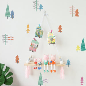 Nordic Trees Removable Wall Stickers
