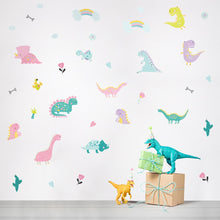 Load image into Gallery viewer, Dinosaurs Removable Wall Stickers
