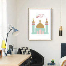 Load image into Gallery viewer, Alhamdulillah Kids Wall Art