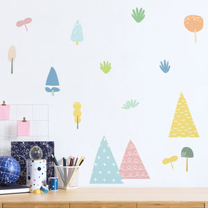 Rainy Cloud Removable Wall Stickers Wall Decal