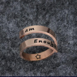 [Lady C] I am Enough Ring