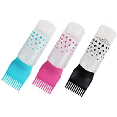 Hair Dye Comb Bottle