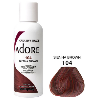 [Adore] Semi Permanent Color - Sienna Brown (104)