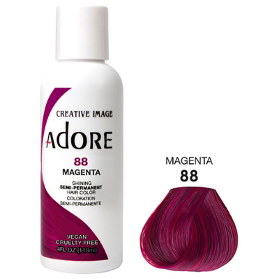 [Adore] Semi Permanent Color - Magenta (88)