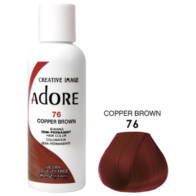 [Adore] Semi Permanent Color - Copper Brown (76)