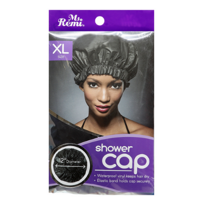 Shower Cap (X-Large) - Black
