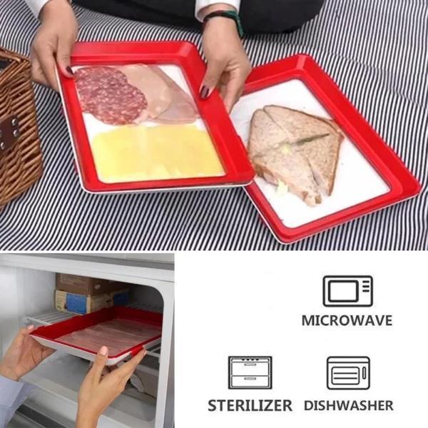 Zero Waste Food Preservation Tray