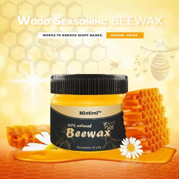 100% Organic Wood Restoration Beeswax
