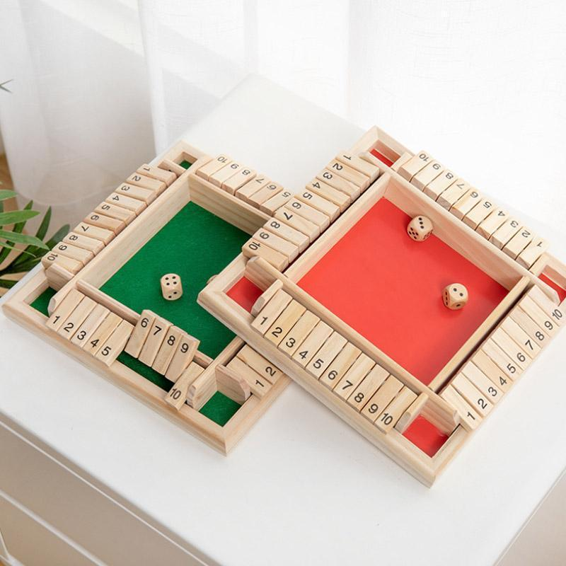 Shut The Box Board Game ( Holiday Sale 50% OFF )