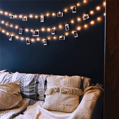 LED Photograph String Lights