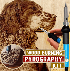 Wood Burning Pyrography Kit 【Hot Sale 50% OFF】