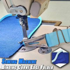 Sewing Machine Binding Curve Edge Folder