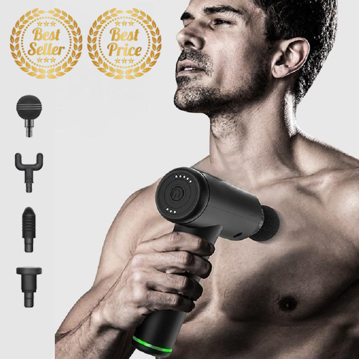 Recovery Elite™ 4 in 1 Deep Muscle Massage Gun 【75% OFF - The Perfect Gift】