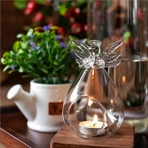 Crystal Angel Candle Holder - Best Gift