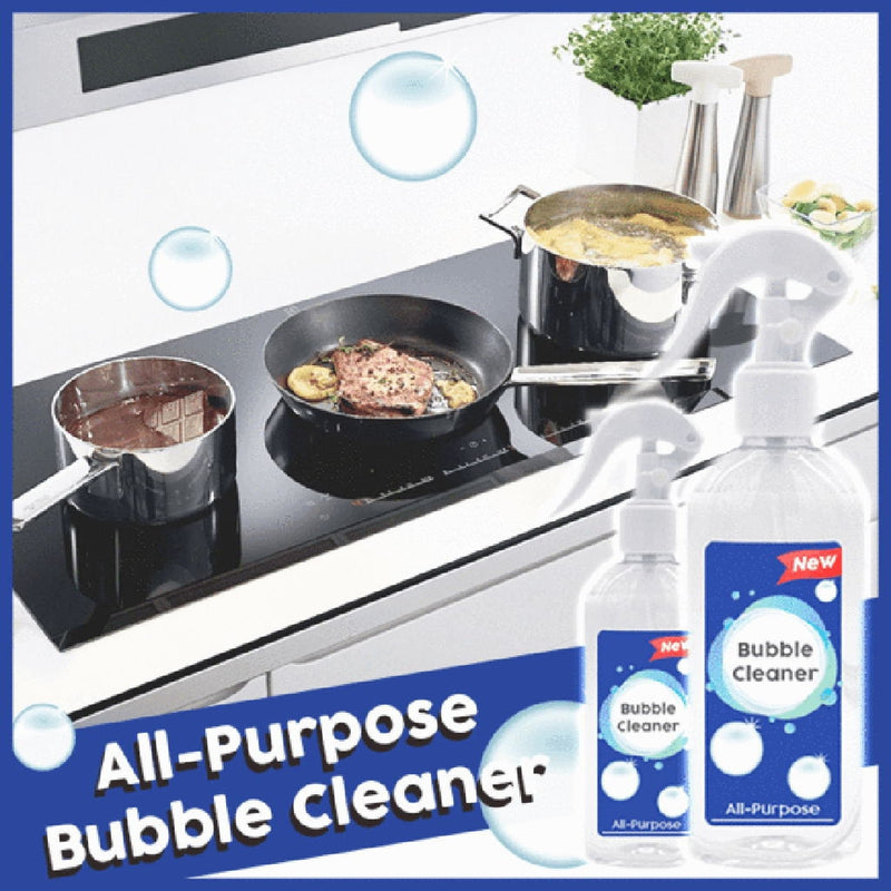 All-Purpose Rinse-Free Bubble Cleaner