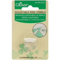 Clover Adjustable Thimble Ring