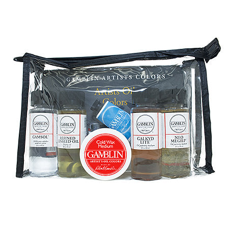 Gamblin Oil Painting Mediums Set