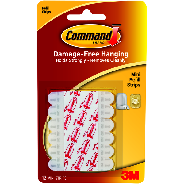 COMMAND ADHESIVE STRIPS