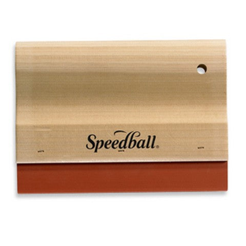 Speedball Squeegee w/ Wooden Handle