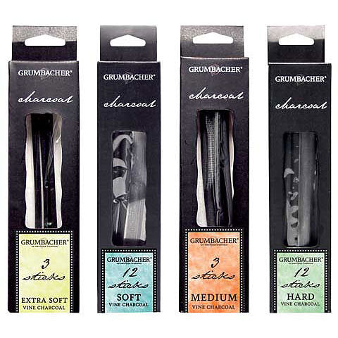 Grumbacher Vine Charcoal