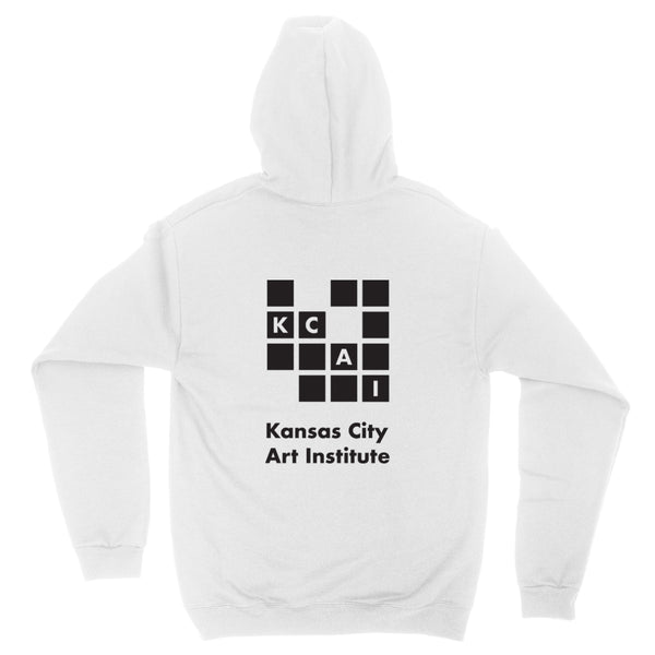 KCAI | Logo Pull Over | White