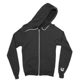 KCAI | Logo Zip Up | Black