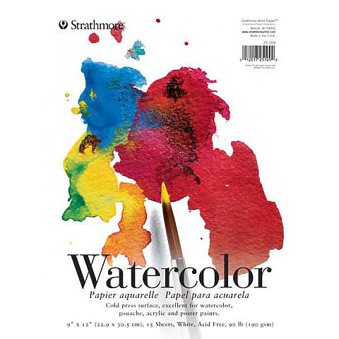 Strathmore Watercolor Pad 200 Series