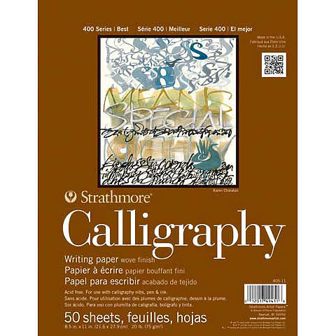 Strathmore 400 Calligraphy Pad