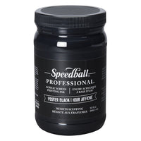 Speedball Poster Black Acrylic Ink 32 Oz