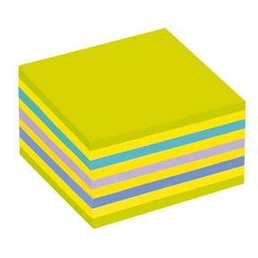 Post-it Notes 76x76 memopad green/blue