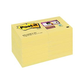 Post-it SS-Notes 51x51 yellow (12)