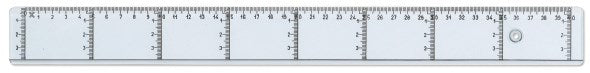 Ruler with vertical graduation 40cm