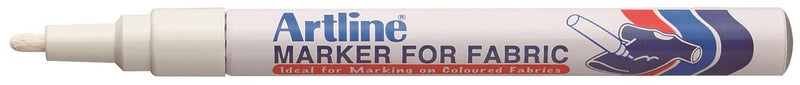 Artline EKC-1 Fabric Marker white