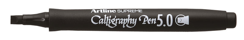Artline Supreme Calligraphy Pen 5mm black