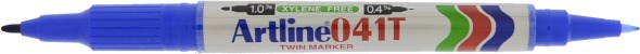 Artline 041T Twin Marker blue
