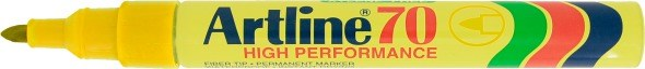 Artline 70 Permanent 1.5 yellow