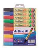 Artline 70 Permanent 10-pack assorted