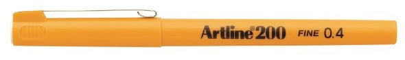 Fineliner Artline 200 yellow